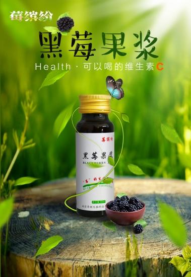 陕西50ml黑莓果汁代加工