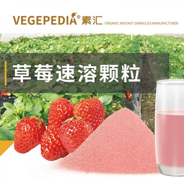 草莓速溶颗粒代加工